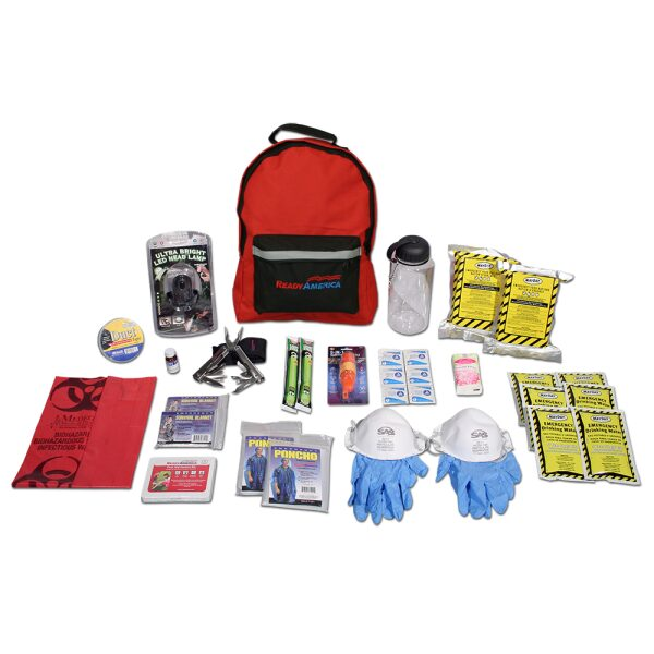 2 Person Emergency Kit Plus (3 Day Backpack)