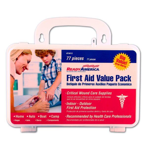 First Aid Value Pack, 77 piece