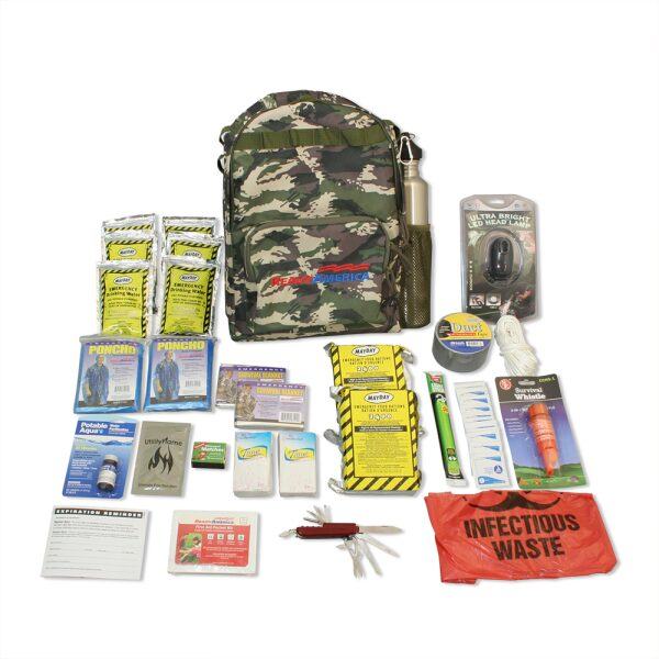 Outdoor Survival Kit 2-Person