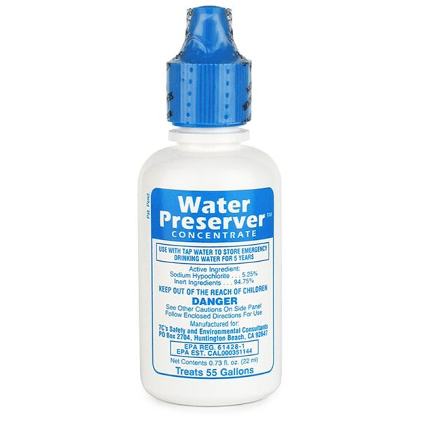 Water Preserver Concentrate (for 55 gallons)