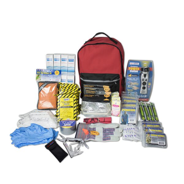 4 Person Deluxe Emergency Kit (3 Day Backpack)