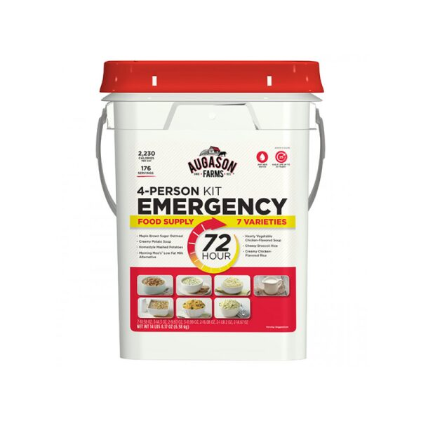 72-Hour 4-Person Emergency Food Supply Kit