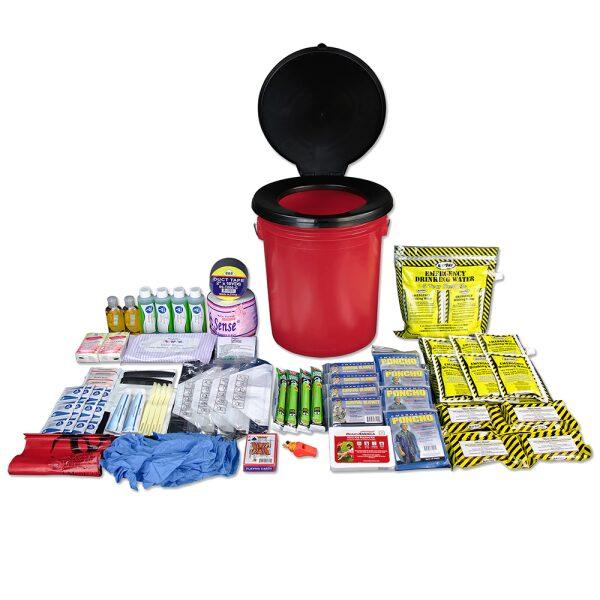 Got 2 Go Kit, Relief & Comfort Supplies, 4 Person