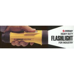 Eveready Heavy Duty Industrial Flashlight