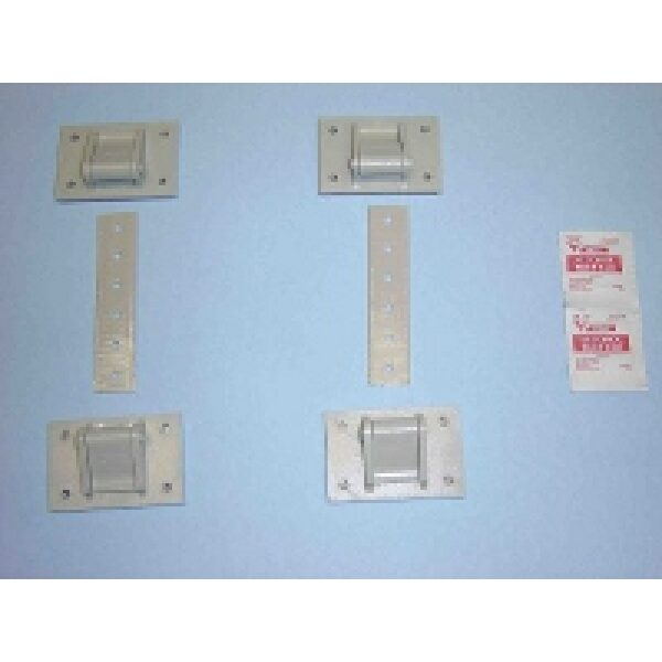 Heavy Duty Fasteners, 300lbs (4buckles, 2 straps)