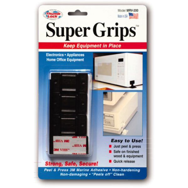 """Super TV Grips, (for 13"""" TV w/ VCR)"""