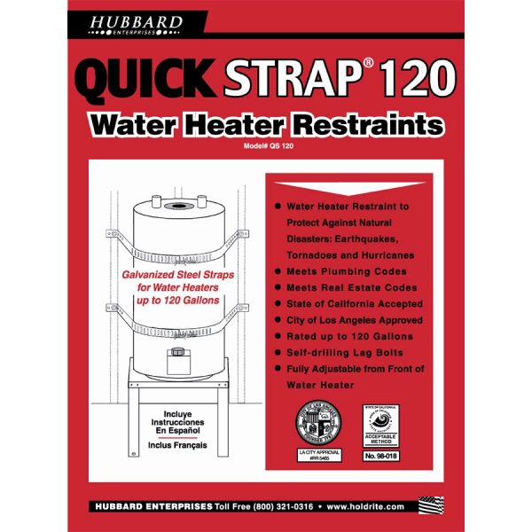 Water Heater Strap - 120 Gallon