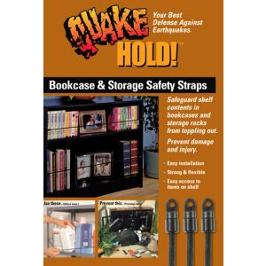 QuakeHOLD! Bookcase and Storage Strap