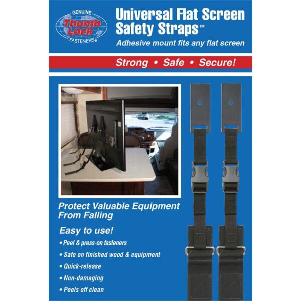 Universal Flat Screen Safety Strap